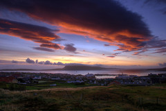 Sunrise in Trshavn (Jkup) Tags: morning 20d clouds sunrise canon eos golden canon20d vc hdr faroeislands trshavn frerne nlsoy tamron1750mm