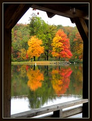 A Moment in Time (cscott_va.) Tags: virginia view scene sherandolake fall2011