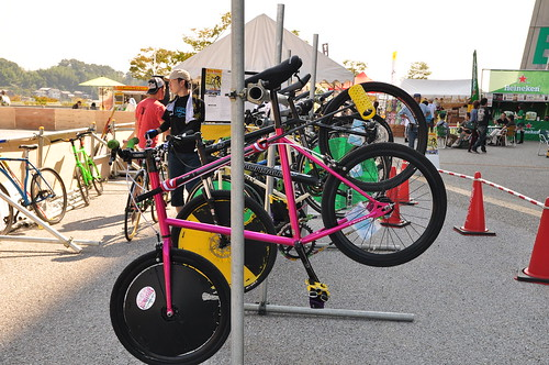 111009 BikePolo@TOYOTA ROCK FESTIVAL 2011