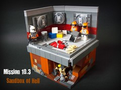 Mission 10.3 (Mandalore the not so great) Tags: sand floor lego hell smooth battle sw sandbox tiled geonosis foitsop 457th 707th mission103