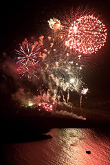 Nea Kameni volcano fireworks (Stefano Belvisi) Tags: volcano fireworks santorini greece grecia caldera vulcano fuochidartificio volcanoeruption neakameni greekisland commemorazione eruzionevulcanica