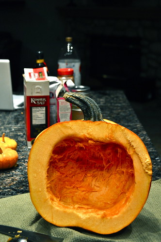 pumpkin roasting by meredith lynn hunt