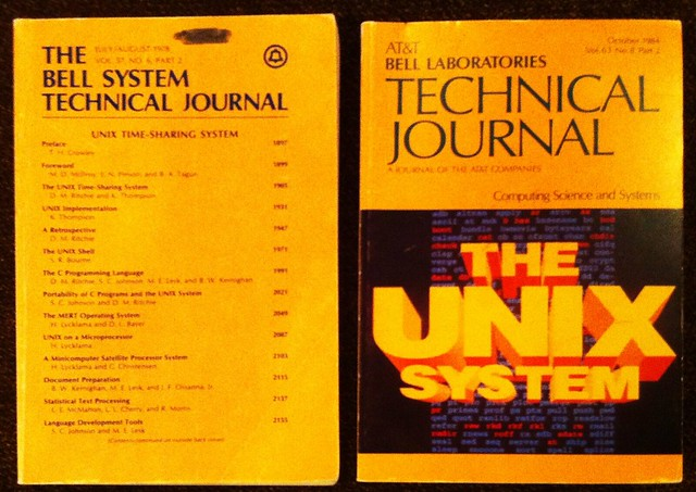 Bell System Journals