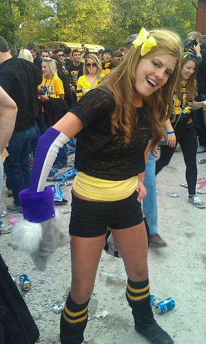 Iowa vs Northwestern tailgate