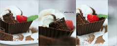 Think Chocolate (Bent e Shj) Tags: ice cake dessert strawberry chocolate cream e bent choco shj