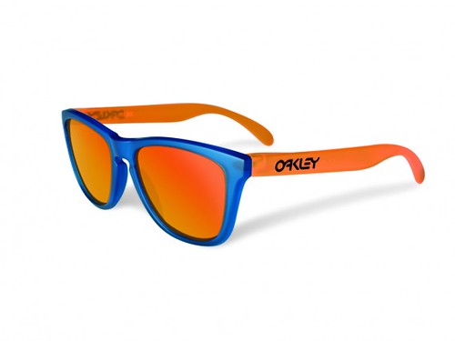 oakley-blacklight-frogskins blue orange