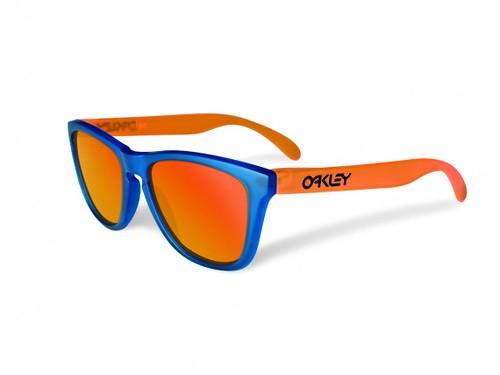 oakley-blacklight-frogskins blue orange