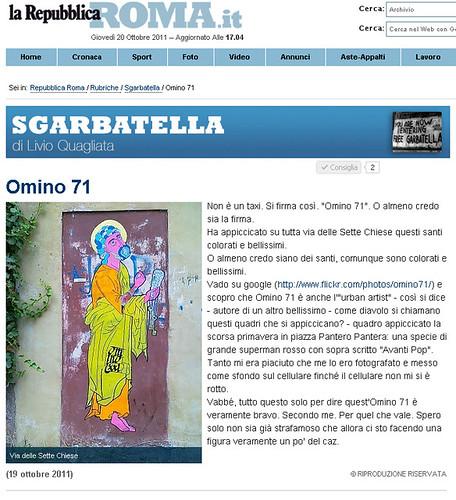"""""""Omino71"""" di Livio Quagliata by OMINO71"""