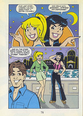 """Archie All Canadian Digest #1, August 1996 - page 78, introduction to """"Canada Calling"""" (Gary Dunaier) Tags: canada comics betty veronica comicbooks archie jughead"""