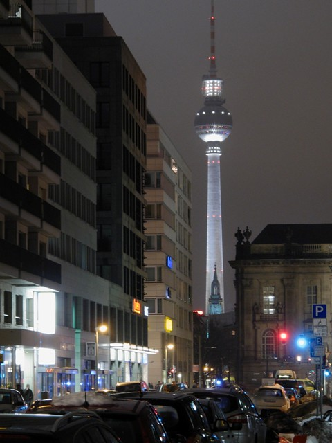 TV Tower above Alexanderplatz @Berlin