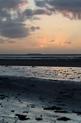 Alla foce della Senna, nuda e dorata (scarpace87) Tags: light sunset sea sky sun france beach clouds river nikon tramonto nuvole mare fiume cielo normandie manual sole normandy francia spiaggia luce normandia 85mmais d7000