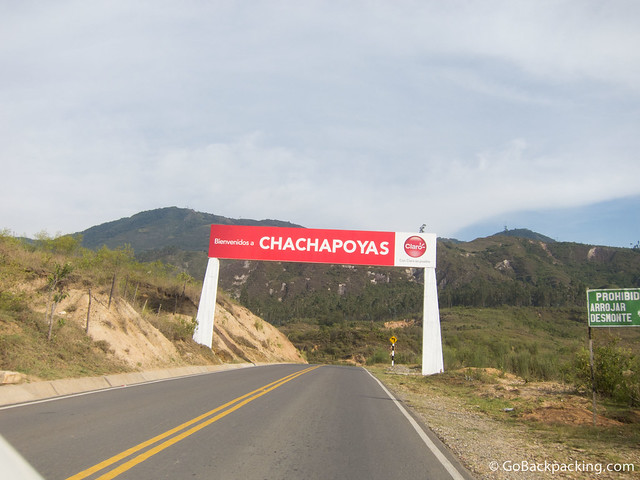 Arriving in Chachapoyas