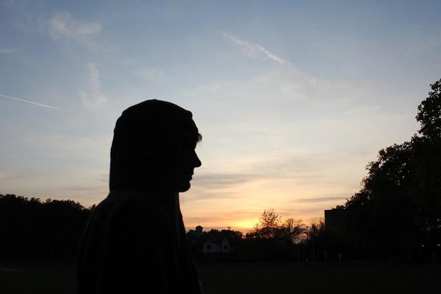 park sunset