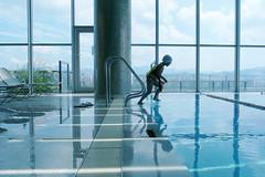 Go! (a l e x . k) Tags: pool swimming hotel kid w korea snap seoul ricoh walkerhill grd grd2
