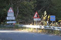 Swiss Mountain  Road (Kecko) Tags: geotagged schweiz switzerland traffic suisse swiss kecko ostschweiz roadsign badragaz sg svizzera trafficsign verkehr verkehrsschild mountainroad 2011 bergstrasse pfäfers swissphoto wartenstein taminatal bergpoststrasse geo:lat=46999537958954946 geo:lon=9501077176057379
