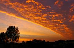26.10.2011 Today morning at dawn. (Siuloon) Tags: color nature canon europe poland polska natura warsaw warszawa wschd eos30d