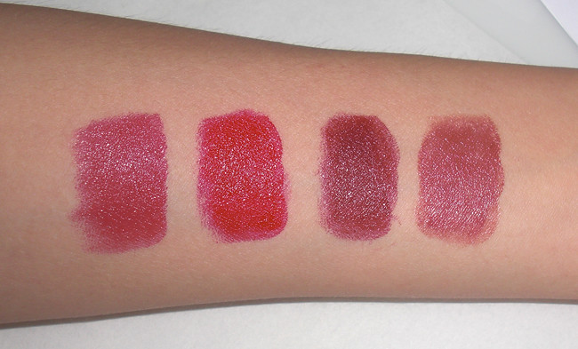 Maybelline's Color Sensational Lipsticks Swatch
