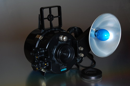 Nemrod Siluro - Flash unit with M2 bulb and rubber lens cover (uncapped)