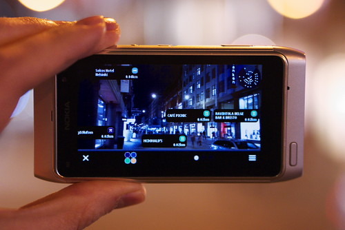 N8 Doing AR: Nokia Live View by Rollofunk