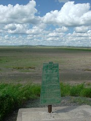 Saskatchewan in July (DickToolCo) Tags: plaque trail saskatchewan woodmountain reiddickie fortellice
