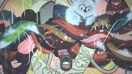 graffiti colaborativo