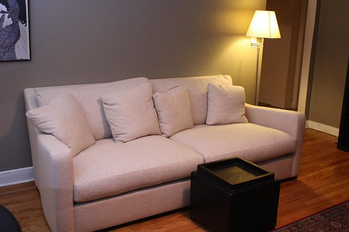 New Couch (Verano Sofa from Crate & Barrel