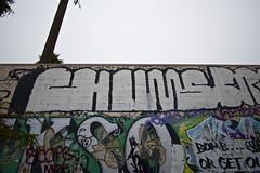 CHUMS (Chasing Paint) Tags: california ca fun graffiti graff oc 1022mm chums sts 714 orangecountywideangle