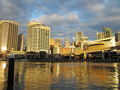 Darling Harbour (Paolo Rosa) Tags: sunset tramonto harbour sydney australia darlingharbour darling