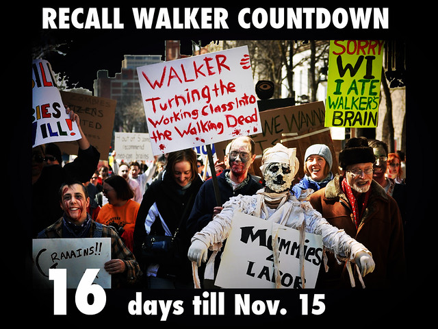 Walker Is Turning the Working Class into the Walking Dead.