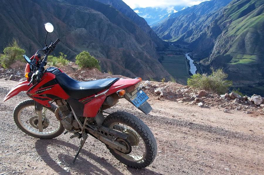 Мототрип по Долине Инков