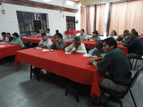 Delegates from various communities of Ayacucho met in Huamanga