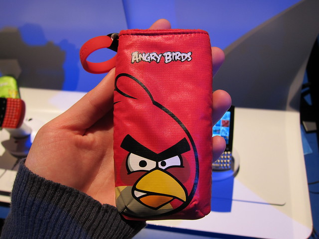 Angry Birds Pouch To Go With Nokia Asha 303
