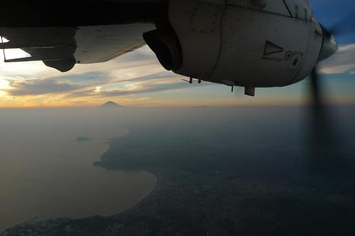 江ノ島、富士山、サンセット。