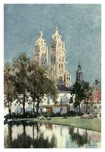 027-Catedral de Tour-Cathedral cities of France 1908- Herbert Menzies Marshall