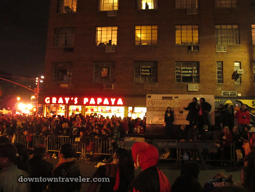NYC Village Halloween Parade 2011_Grays Papaya 6th Ave