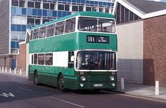 AN262 Danestrete Stevenage 4 October 1987 (national_bus_510) Tags: stevenage sv sb1 leylandatlantean londoncountrynortheast charleshroe an68b1r lcne kpj262w an262