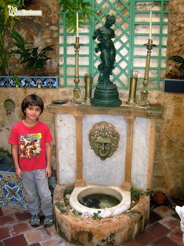 Fountain - Casa Particular - Havana Centro Cuba