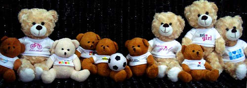 Group Shot My Little Athlete Bears
