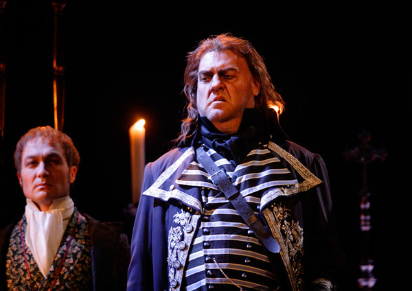 Bryn Terfel in Tosca © Catherine Ashmore/ROH 2011