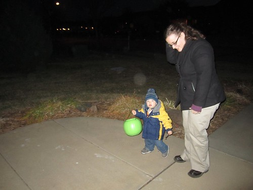 First trick or treat outing