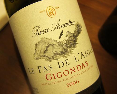 2006 Gigondas Pierre Amadieu