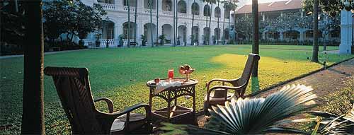 HOTEL RAFFLES DE SINGAPUR