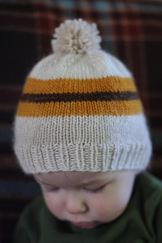 Striped Hat for Everett
