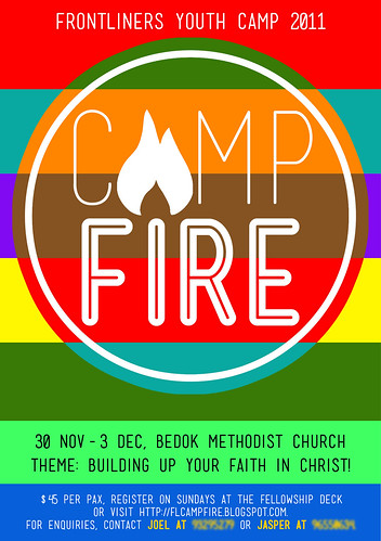 Camp Fire Flyer