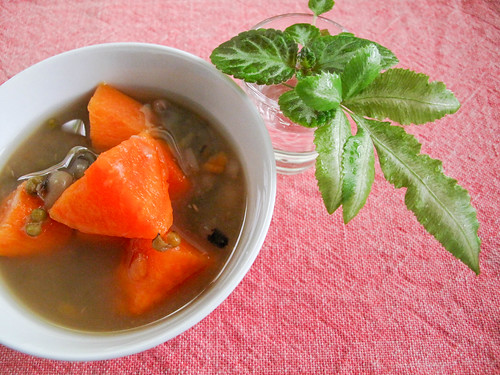 IMG_0317 Sweet potatoes + green beans + black eye beans dessert