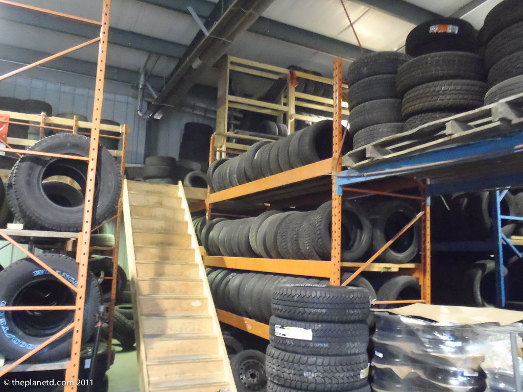 Tire Shop in Canada