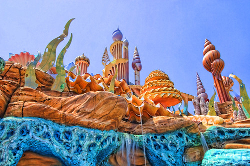 Mermaid Lagoon - Tokyo DisneySea