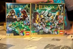 Lego Heroica Spellen