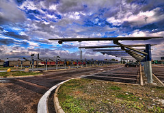 Solar Parking - Modena [explore] (neimon2 (too busy, sorry for my temporary silence)) Tags: italy solar highway energy panel parking explore a1 panels modena hdr alternative autogrill photovoltaic solare fotovoltaico neimon2