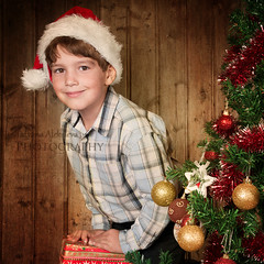 :) (tchara) Tags: christmas winter red portrait holiday cute male beautiful closeup ball photography waiting child looking background decoration balls christmastree garland surprise wait surprised christmasdecoration studioshot anticipation littleboy decorate oldwood oneperson contemplation decorated caucasian suspense lifestyles expectation colorimage faceexpression expectancy expectance childrenonly colourimage elementaryage surpriseexpression positiveexpression